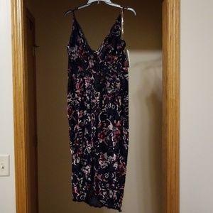 NWT Adam Levine Romper Dress Size L